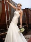 bride on train
